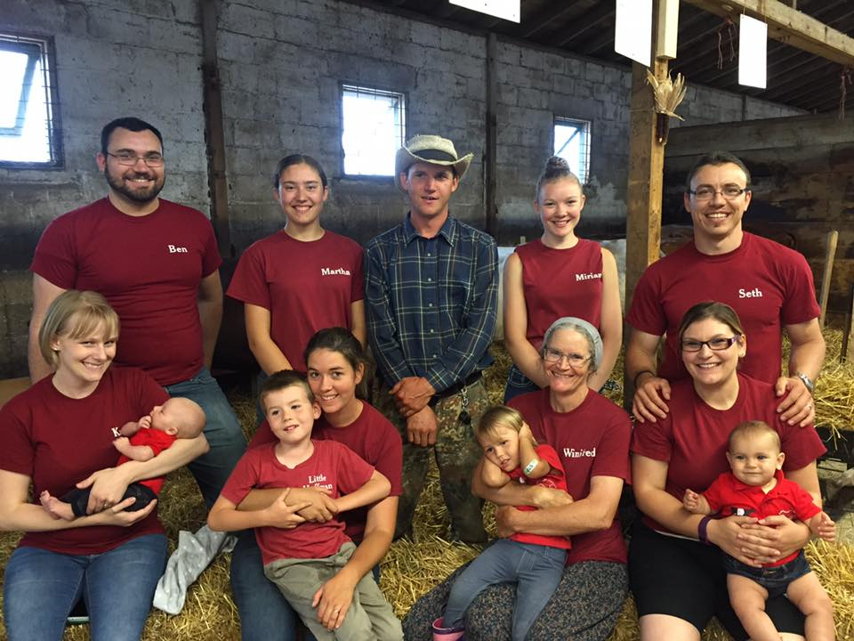 The Hoffman family, longtime dairy breeders